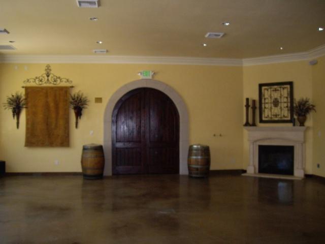 Interior of Tasting Bar