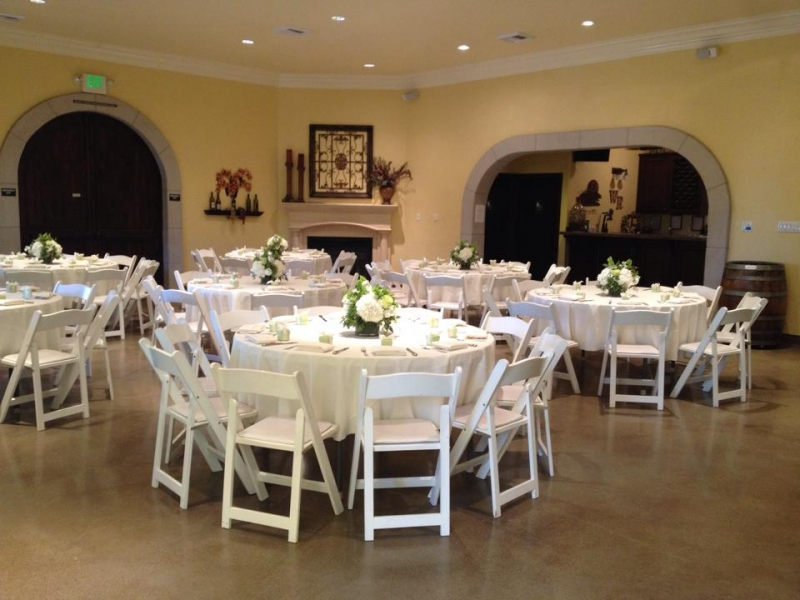 Wedding Tables in White