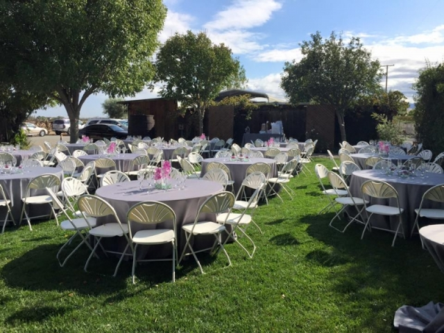 Wedding Tables in Lavender