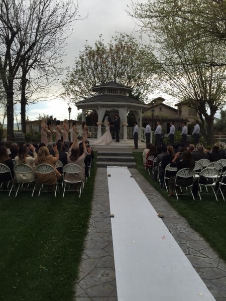 Wedding at Gazebo