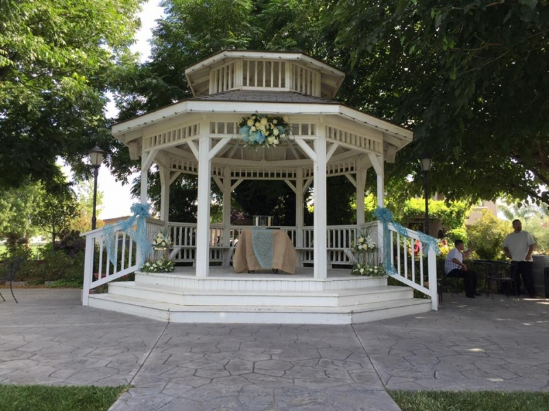 Gazebo and Decor