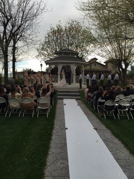 Wedding at Gazebo
